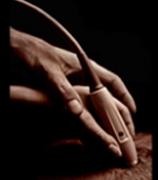Hands-on ultrasound training.